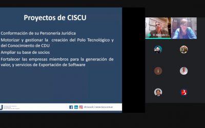 La CISCU se presentó en la Semana de la CyT de la UADER Concepción del Uruguay